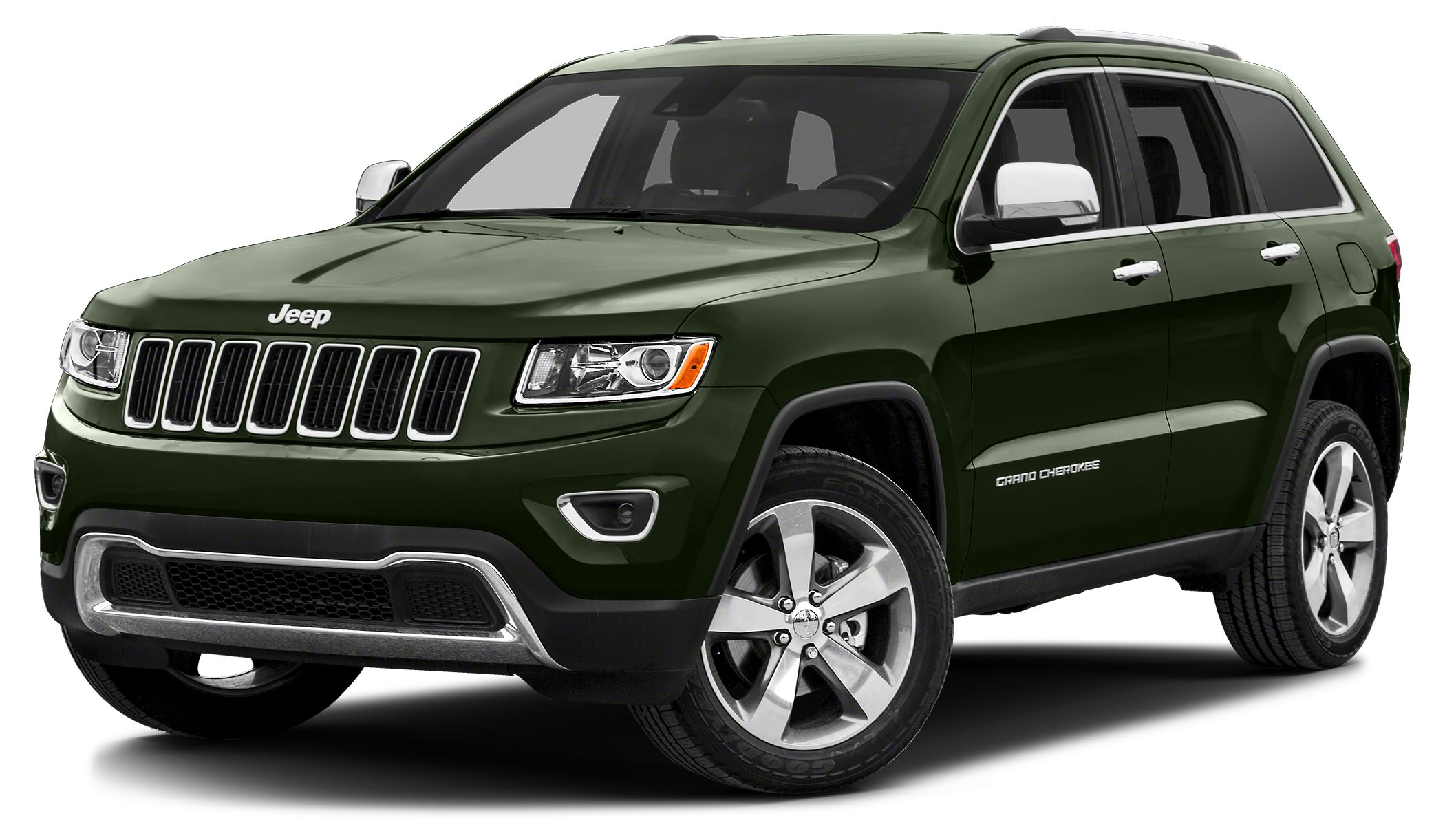 2017 Jeep Grand Cherokee Limited 4WD Green Machine Perfect Color Combination Confused about whi