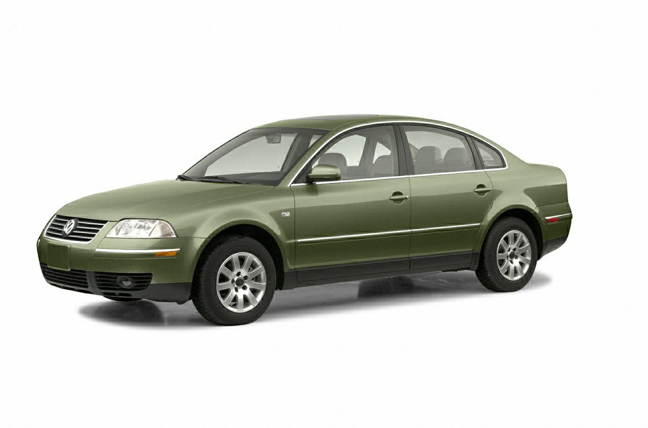 2002 Volkswagen Passat GLS Color Green Stock ZT309262 VIN WVWPD63BX2P309262