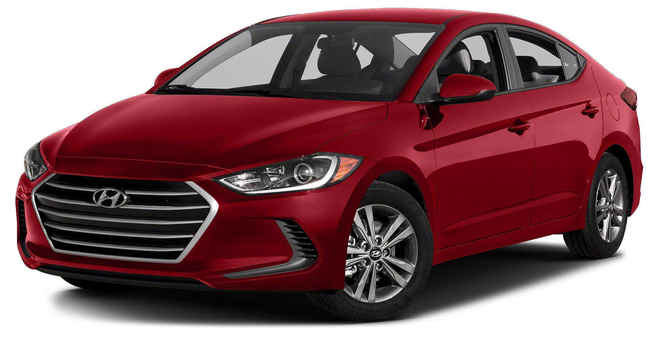 2017 Hyundai Elantra SE Miles 46676Color Scarlet Red Pearl Stock R4921 VIN KMHD74LF1HU084415
