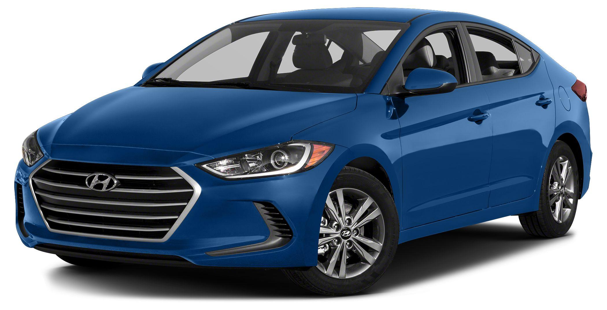 2017 Hyundai Elantra Value Edition Bluetooth Hands-free Phone System Rearview Camera w Dynamic G