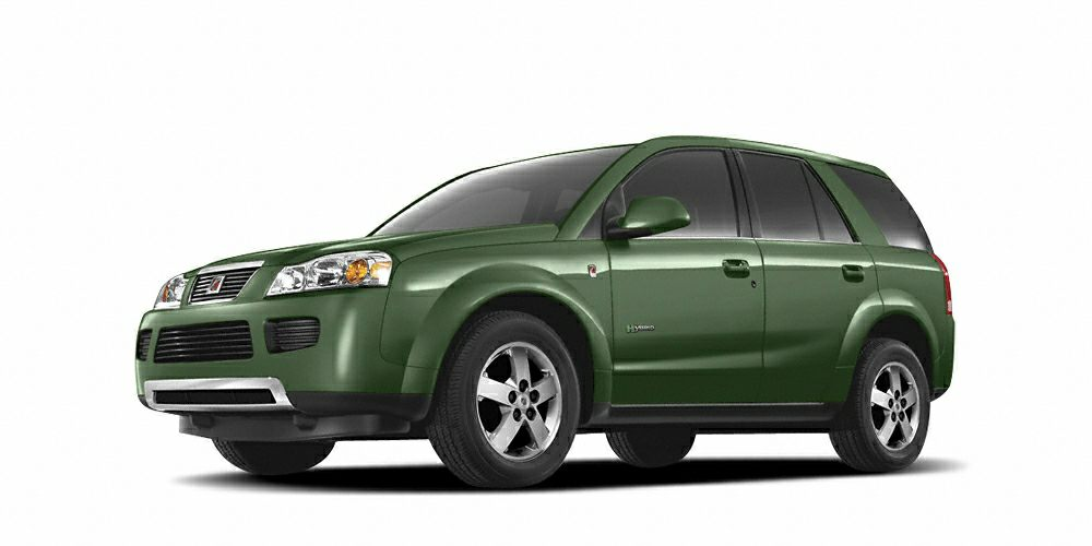 2007 Saturn VUE Hybrid Base Miles 81099Color Green Stock H152101A VIN 5GZCZ33Z27S878685