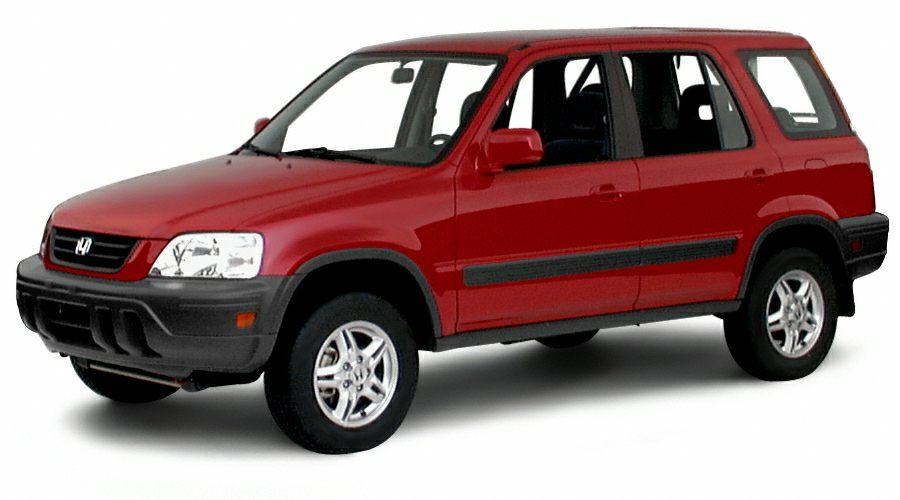 2001 Honda CR-V Special Edition Miles 74395Color Silver Stock K14951A VIN JHLRD18771C004813