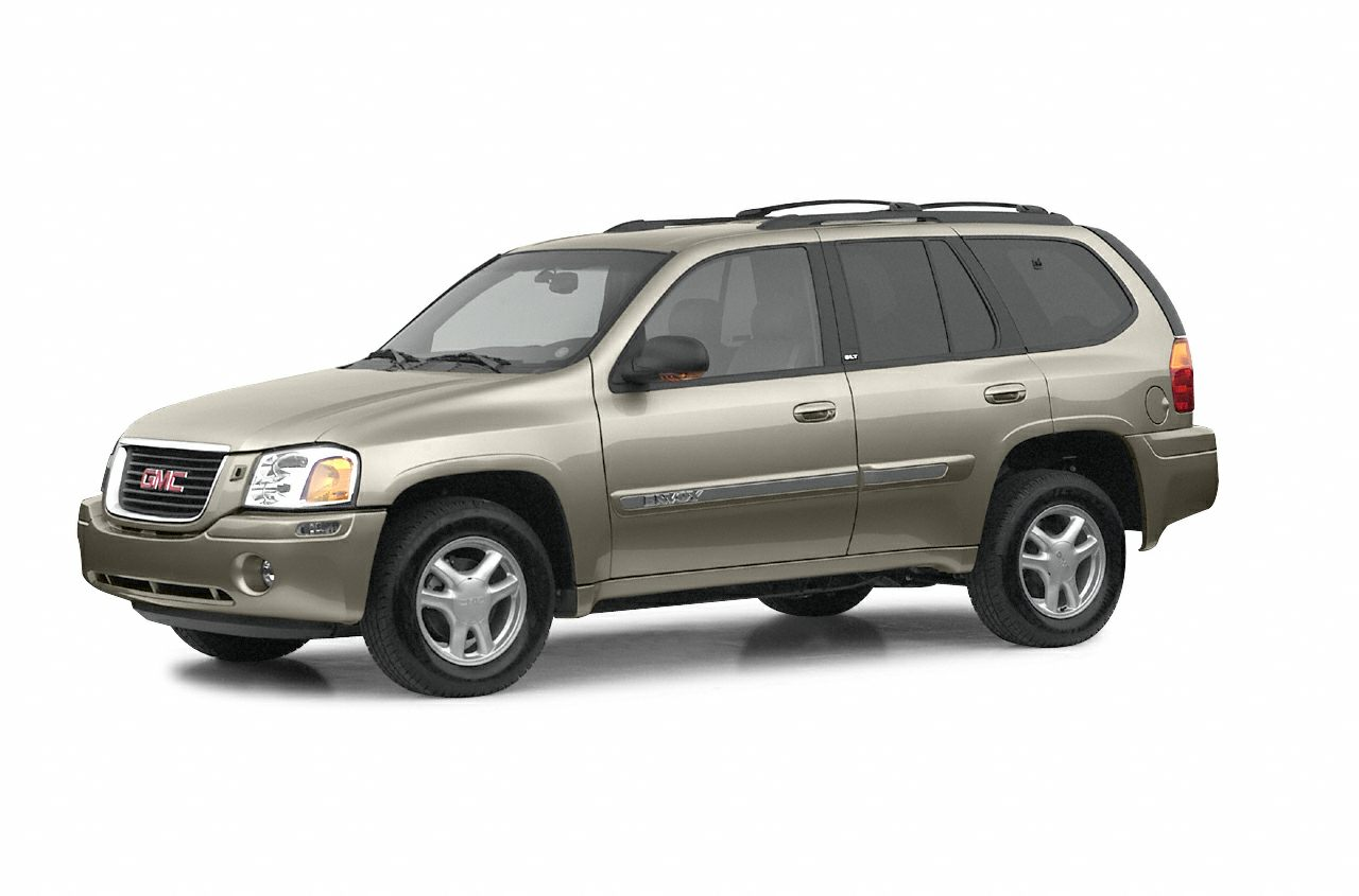 2002 GMC Envoy  This 2002 GMC Envoy 4dr 4WD features a 42L Straight 6 Cylinder 6cyl Gasoline engi