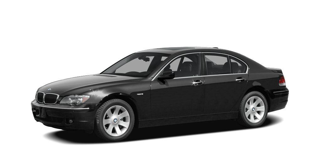 2008 BMW 7 Series 750Li 750Li trim Navigation Moonroof Heated Leather Seats Aluminum Wheels Re