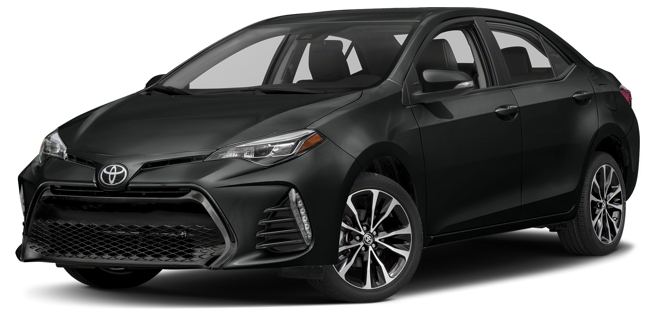 2017 Toyota Corolla SE Moonroof Aluminum Wheels SE PREMIUM PACKAGE Back-Up Camera SE trim BLA