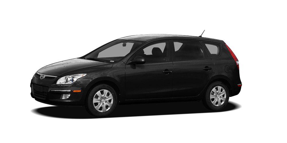 2010 Hyundai Elantra Touring GLS Miles 82174Color Black Noir Pearl Stock t9655 VIN KMHDC8AE4