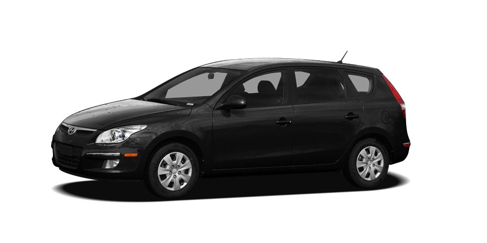 2010 Hyundai Elantra Touring GLS Miles 62069Color Black Pearl Stock F0489A VIN KMHDB8AE1AU06