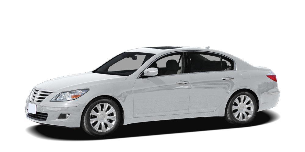 2010 Hyundai Genesis 46 Miles 95156Color White Satin Pearl Stock T2712 VIN KMHGC4DF7AU07203
