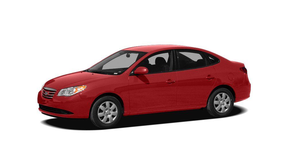 2010 Hyundai Elantra GLS Elantra GLS 4D Sedan 20L 4-Cylinder DOHC CVVT 4-Speed Automatic FWD