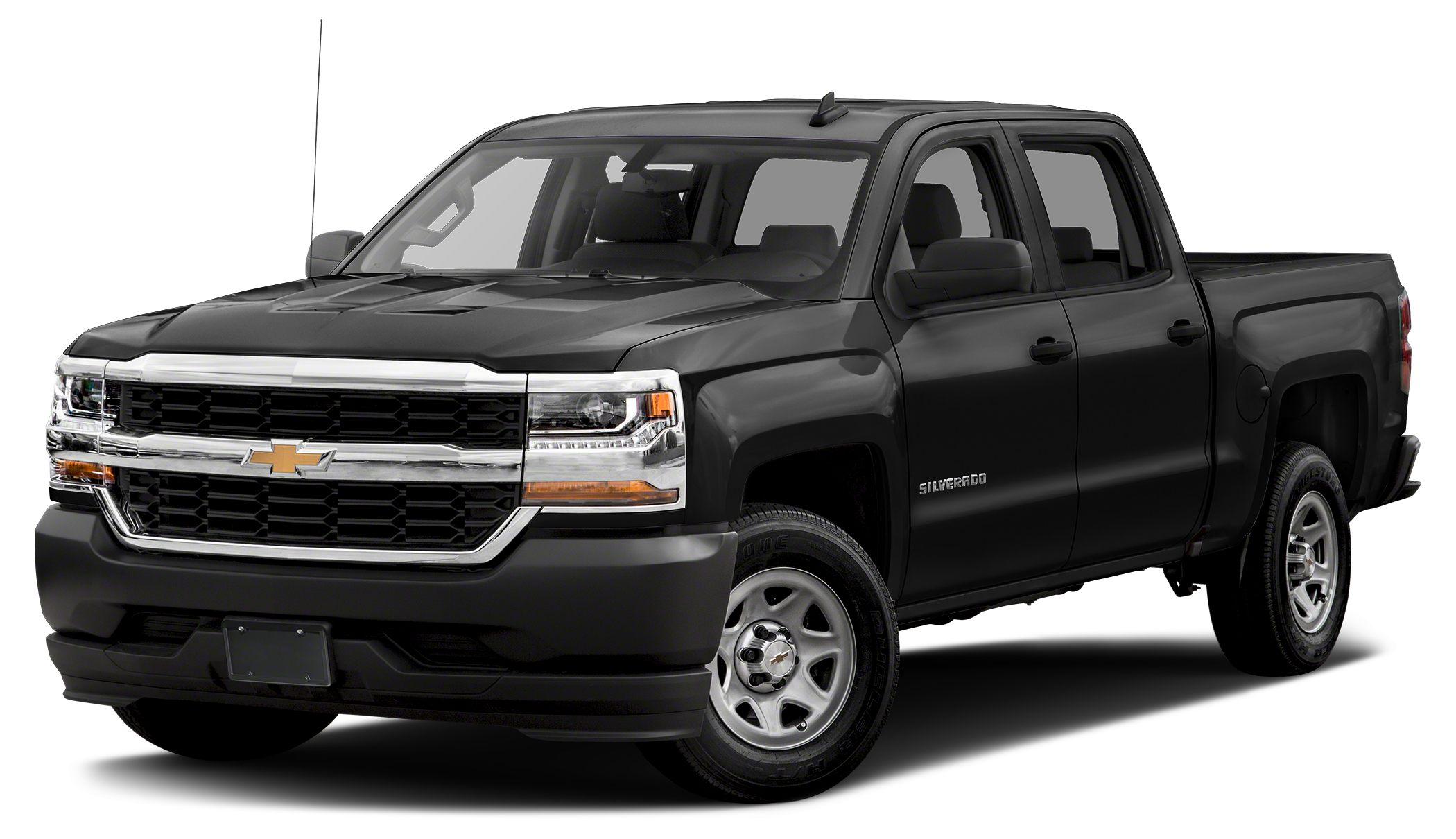 2017 Chevrolet Silverado 1500 WT BLACK exterior and JET BLACK  DARK ASH interior Work Truck trim