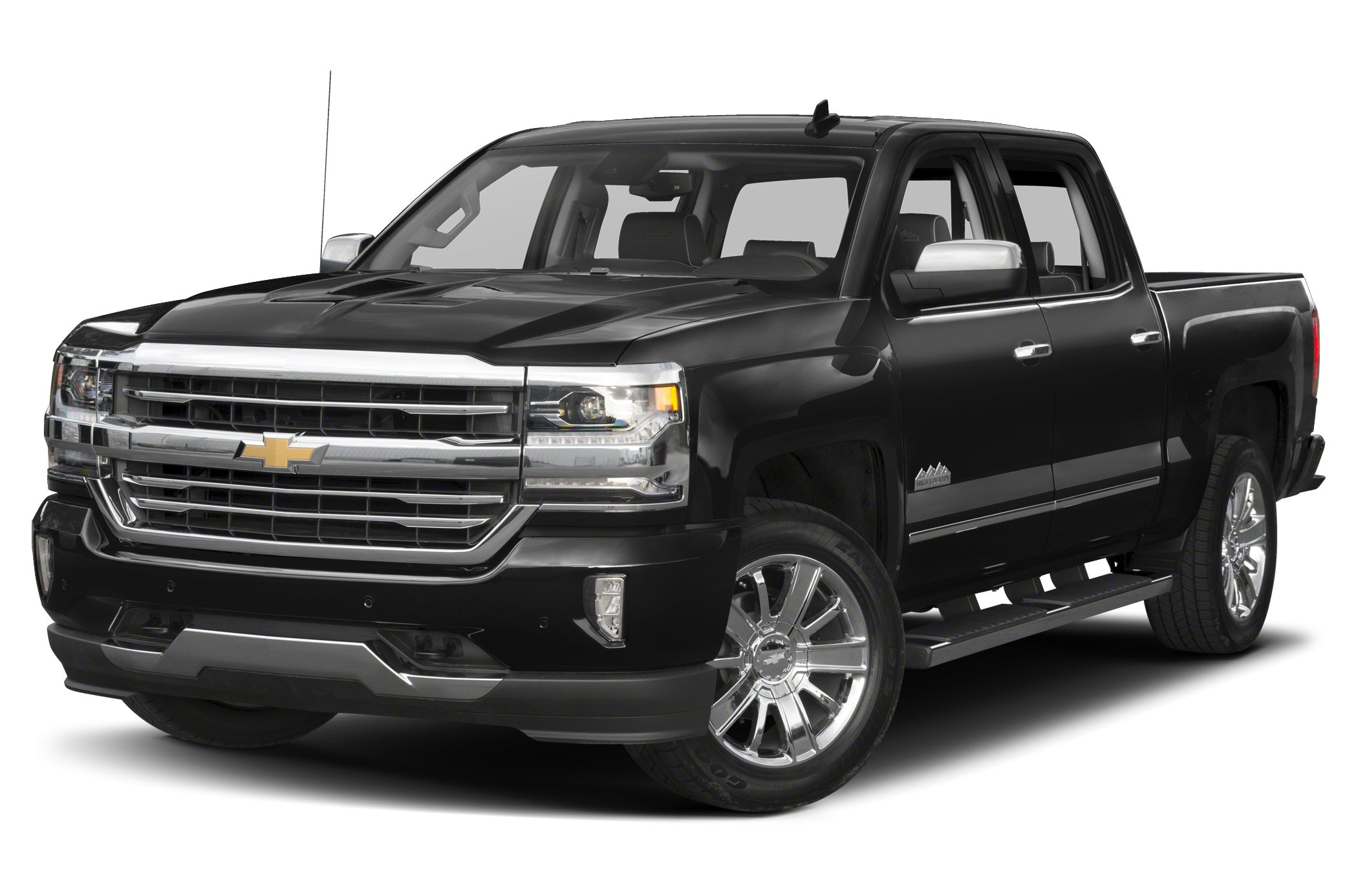 2016 Chevrolet Silverado 1500 High Country Road trips can be fun again with the anti-lock brakes
