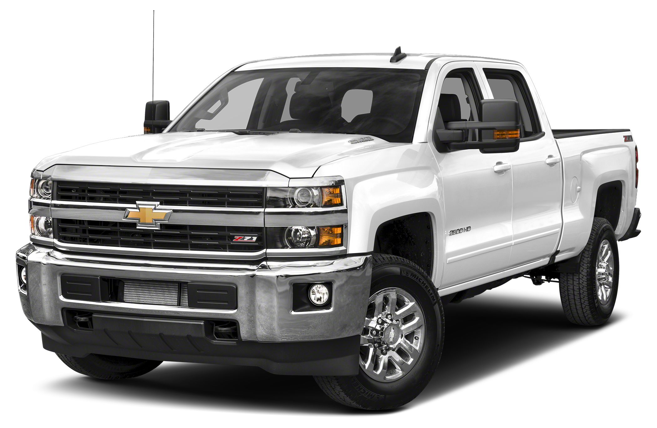 2016 Chevrolet Silverado 2500HD LT Allison 1000 6-Speed Automatic 4WD and Cloth Turbocharged D