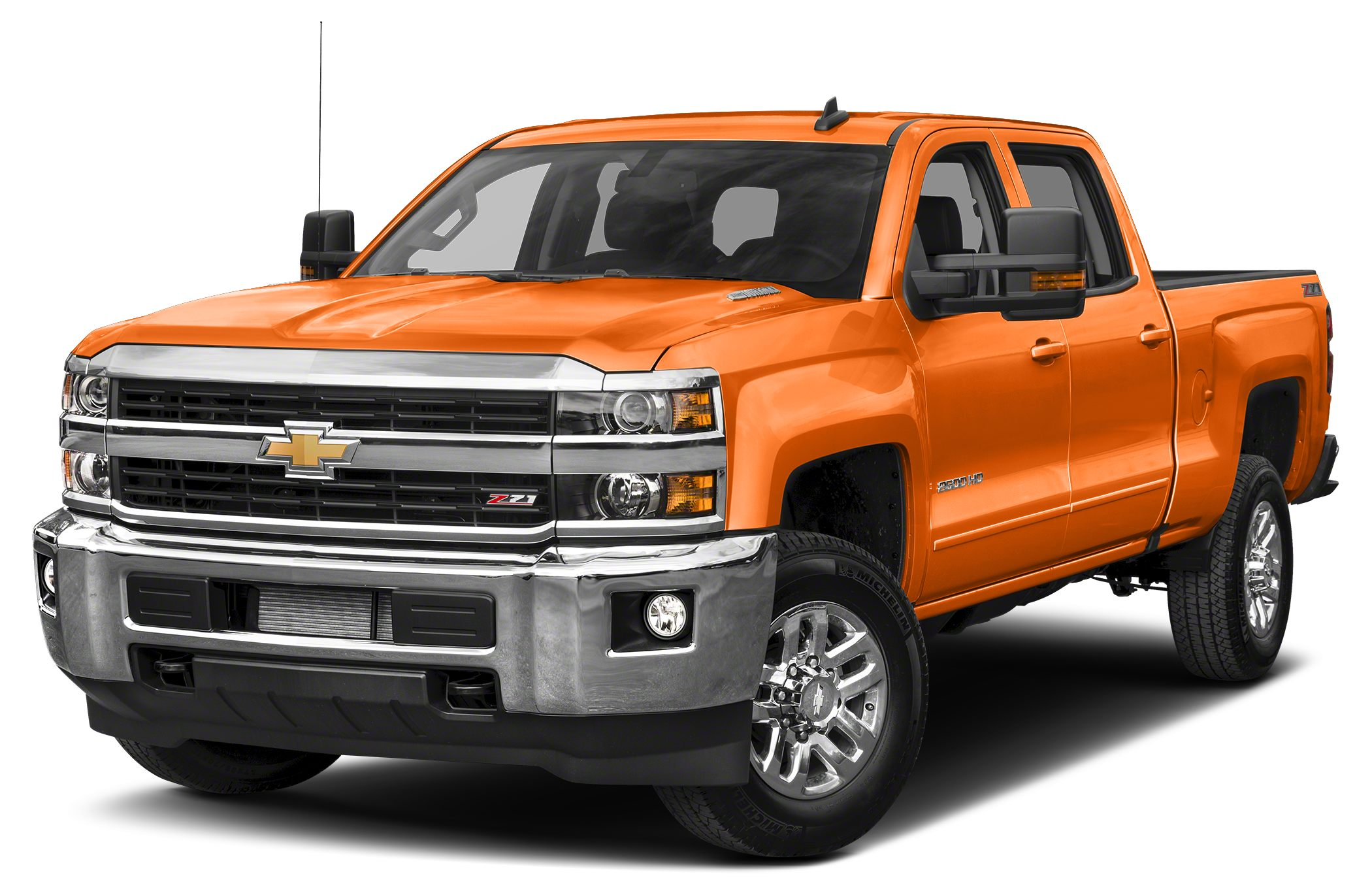 2016 Chevrolet Silverado 2500HD LT All Star Edition 110-Volt AC Power Outlet 4 Round Chromed Ass