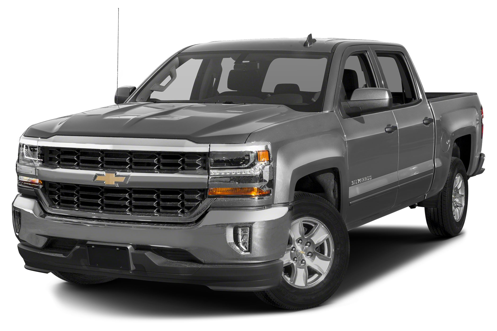 2016 Chevrolet Silverado 1500 LT w1LT 6-Speed Automatic Electronic with Overdrive Perfect Color