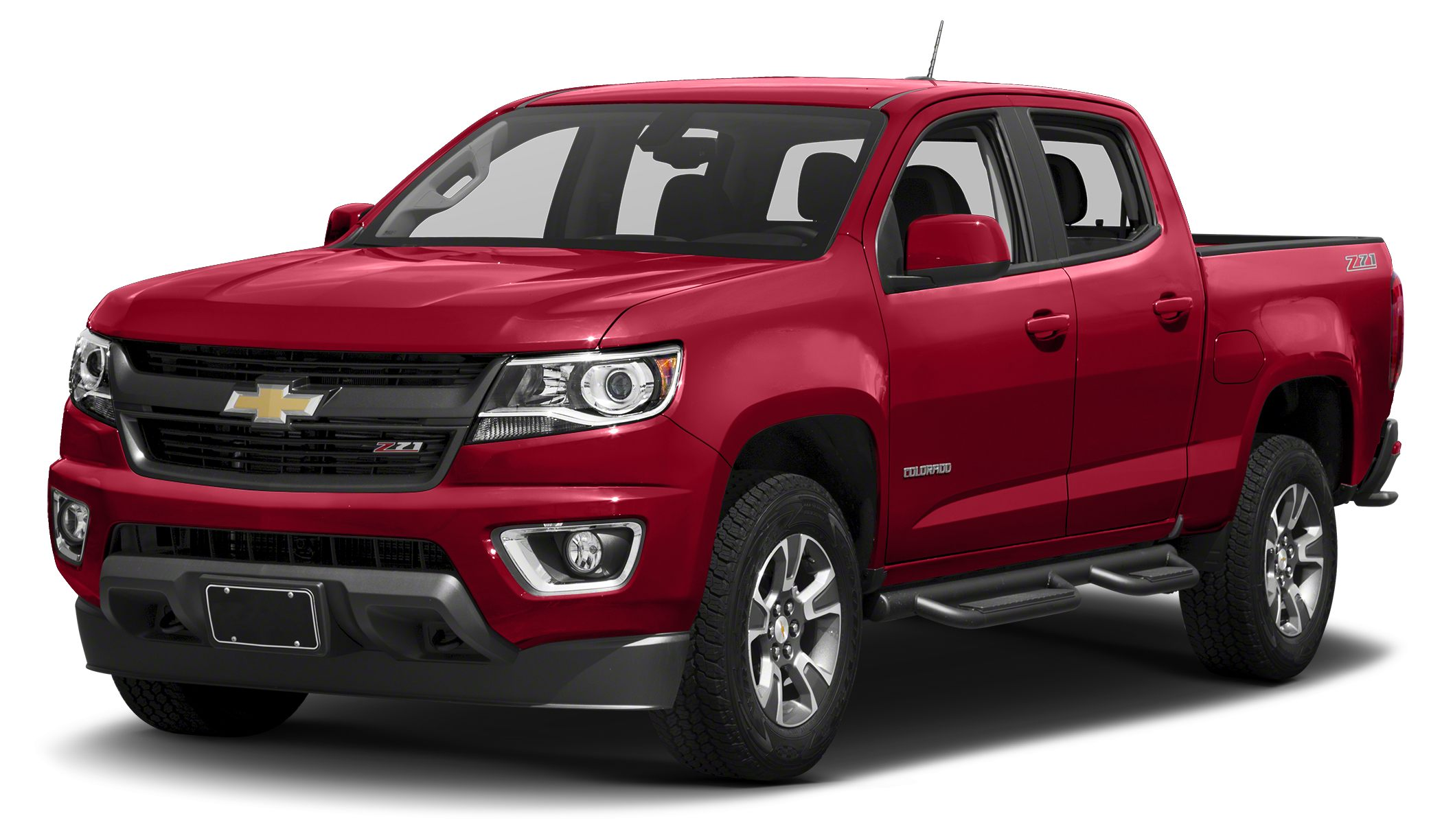 2017 Chevrolet Colorado Z71 Miles 0Color Red Hot Stock 1GCGTDEN5H1206177 VIN 1GCGTDEN5H12061