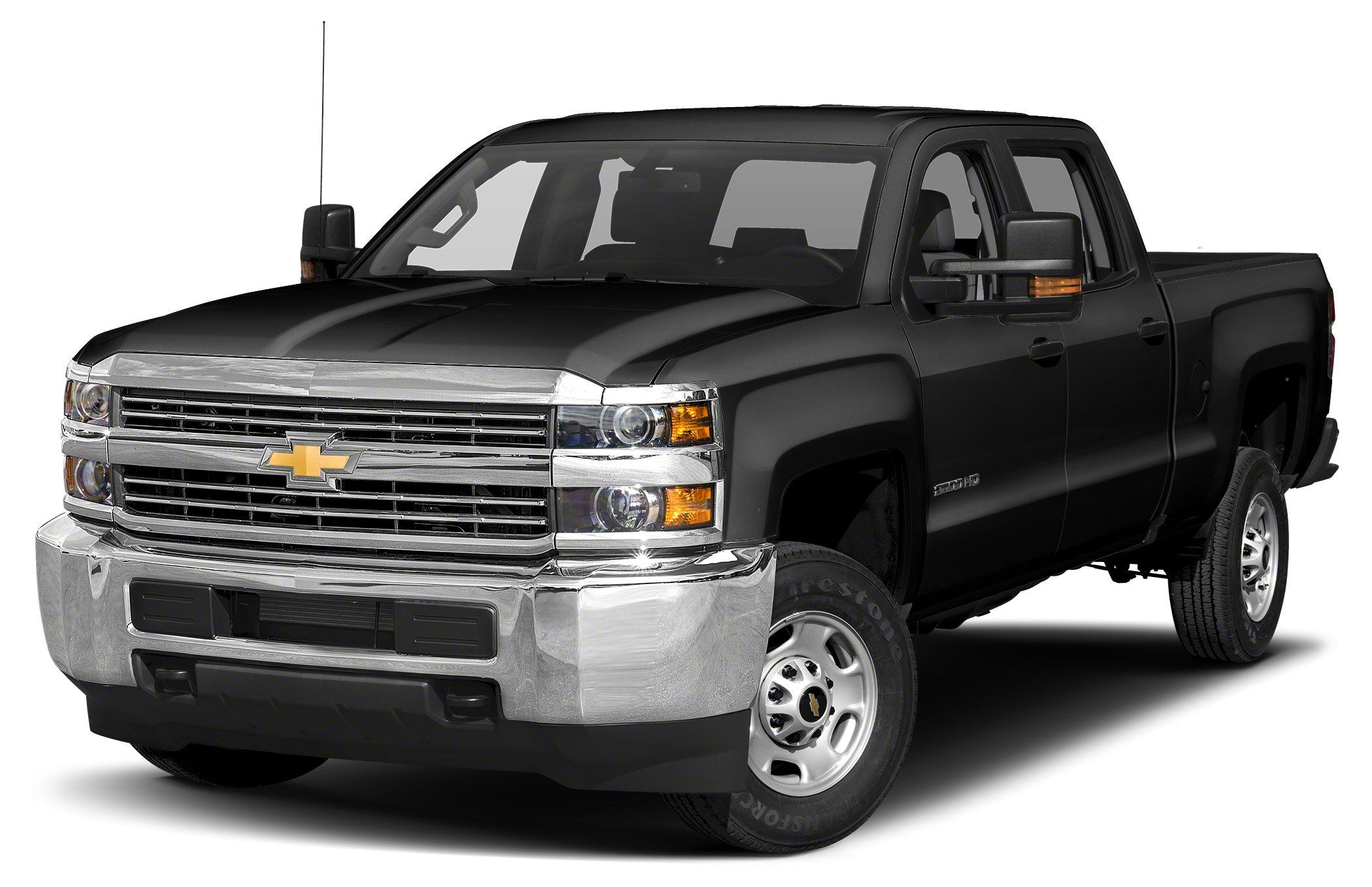 2018 Chevrolet Silverado 2500HD WT Black 2018 Chevrolet Silverado 2500HD Work Truck 4WD 6-Speed Au