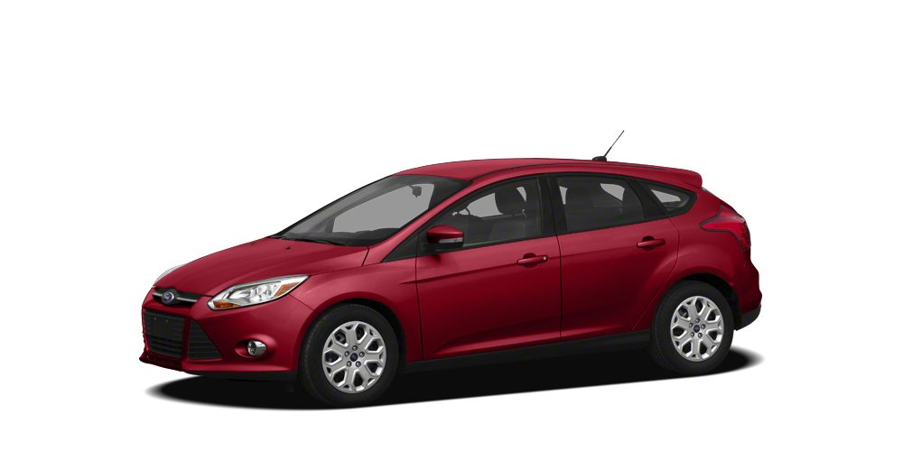 2012 Ford Focus SEL Miles 61633Color Candy Red Metallic Tinted Clearcoat Stock FG1876B VIN 1