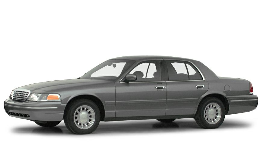 2000 Ford Crown Victoria LX Crown Victoria LX and Light Graphite wLeather Seating Surfaces Split