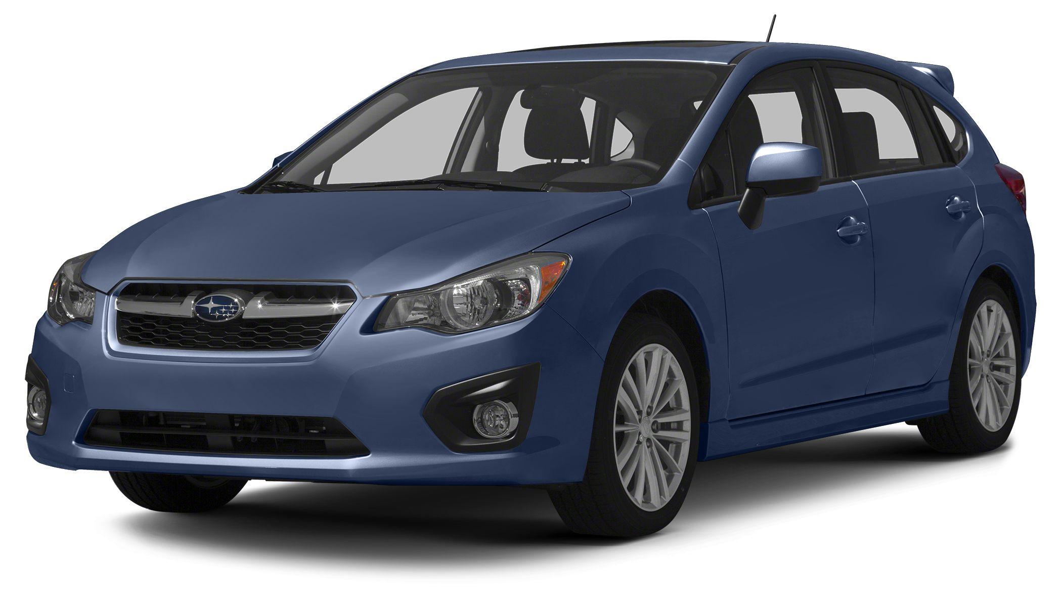 2013 Subaru Impreza 20i CARFAX 1-Owner 12000 Mile Warranty 20i trim FUEL EFFICIENT 33 MPG Hw