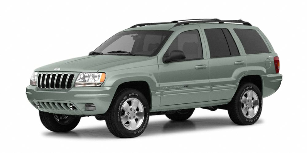 2003 Jeep Grand Cherokee Limited Miles 0Color Onyx Green Pearlcoat Stock M15344A VIN 1J4GW58
