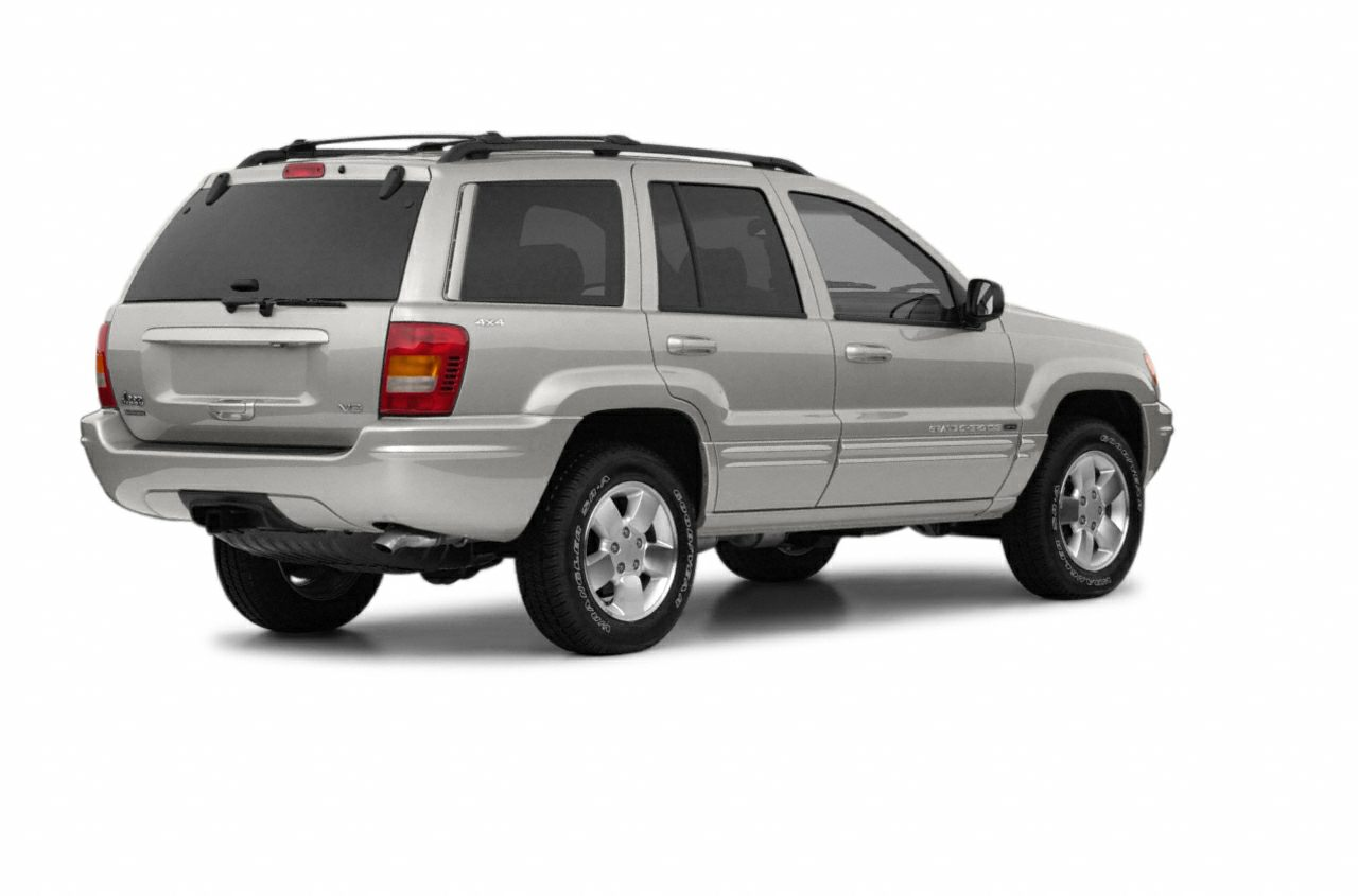 2003 Jeep Grand Cherokee Limited Vehicle Options 4WDAWD Electrochromic Exterior Rearview Mirror P