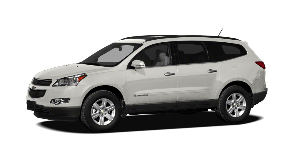 2011 Chevrolet Traverse LS Miles 54684Color White Stock RP1040 VIN 1GNKREED9BJ374411