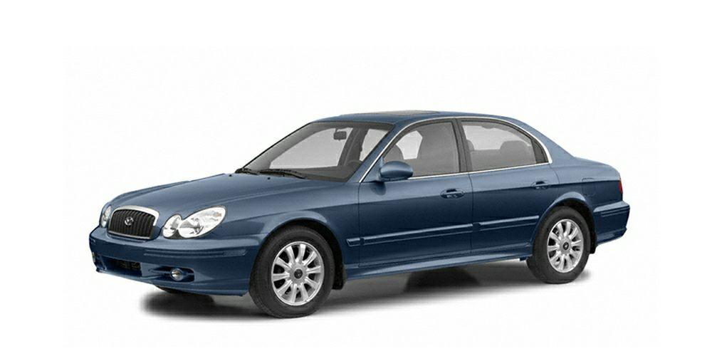 2004 Hyundai Sonata GLS Miles 108617Color Blue Stock H5870Q VIN KMHWF35H04A082364