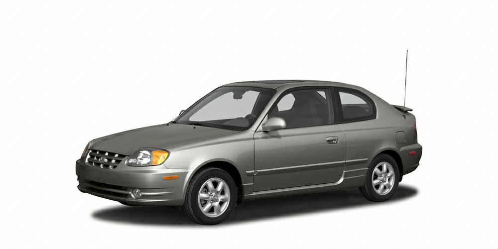 2004 Hyundai Accent GL Clean CARFAX Gray 2004 Hyundai Accent FWD 4-Speed Automatic with Overdrive