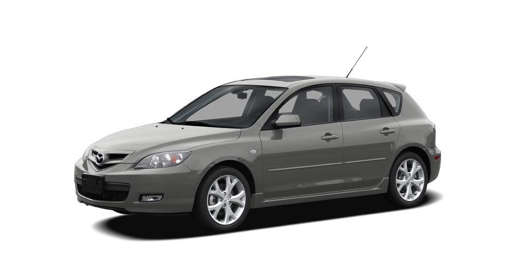 2008 Mazda MAZDA3 s Touring Miles 61440Color Galaxy Gray Mica Stock 13129UB VIN JM1BK34428118