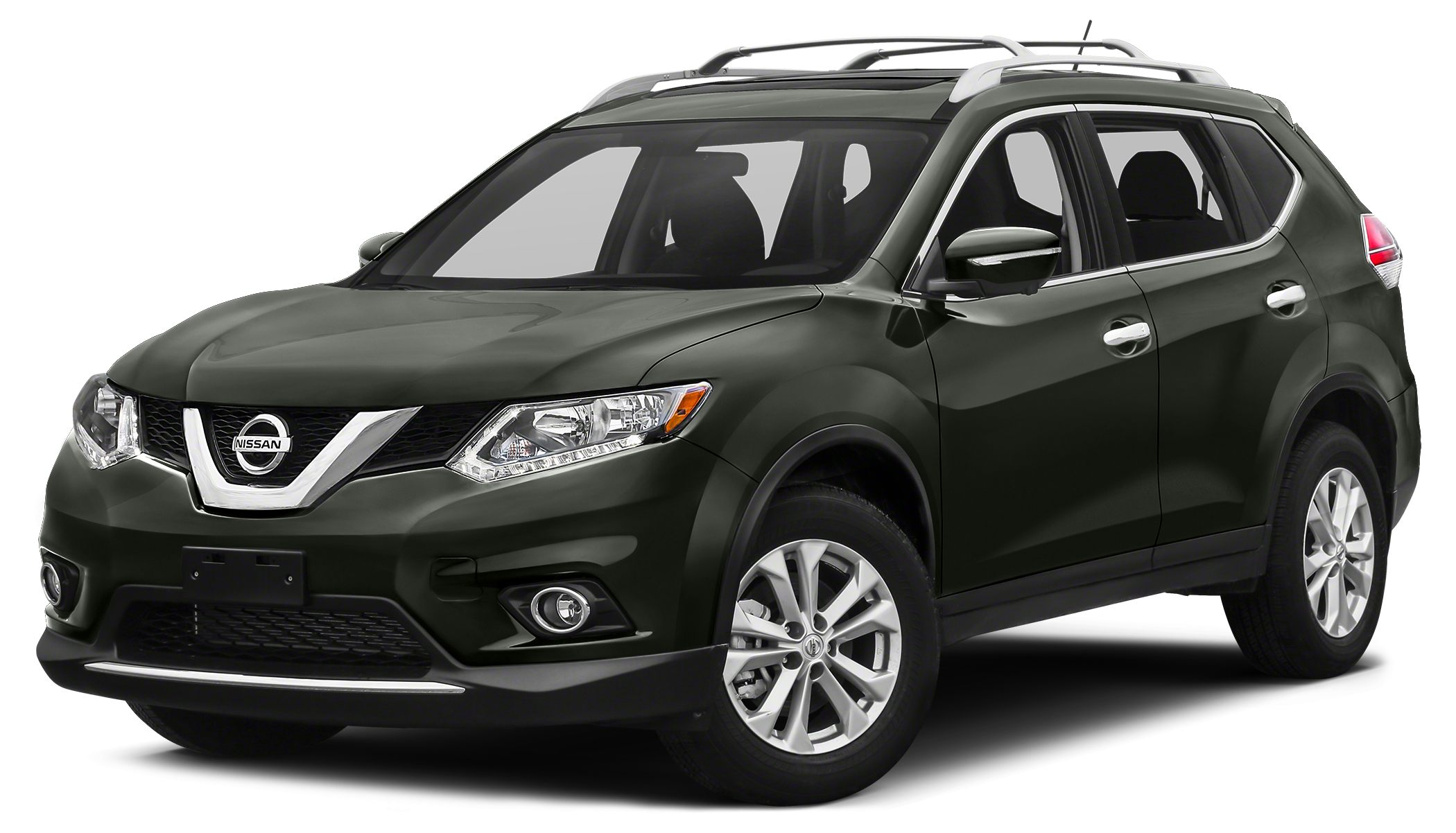 2015 Nissan Rogue SL Miles 22229Color Midnight Jade Stock 17R409A VIN 5N1AT2MT3FC756744