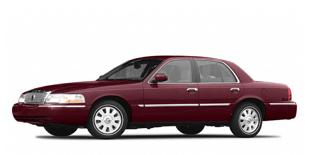 2004 Mercury Grand Marquis GS Color Red Stock M2121A VIN 2MEFM74W44X614478