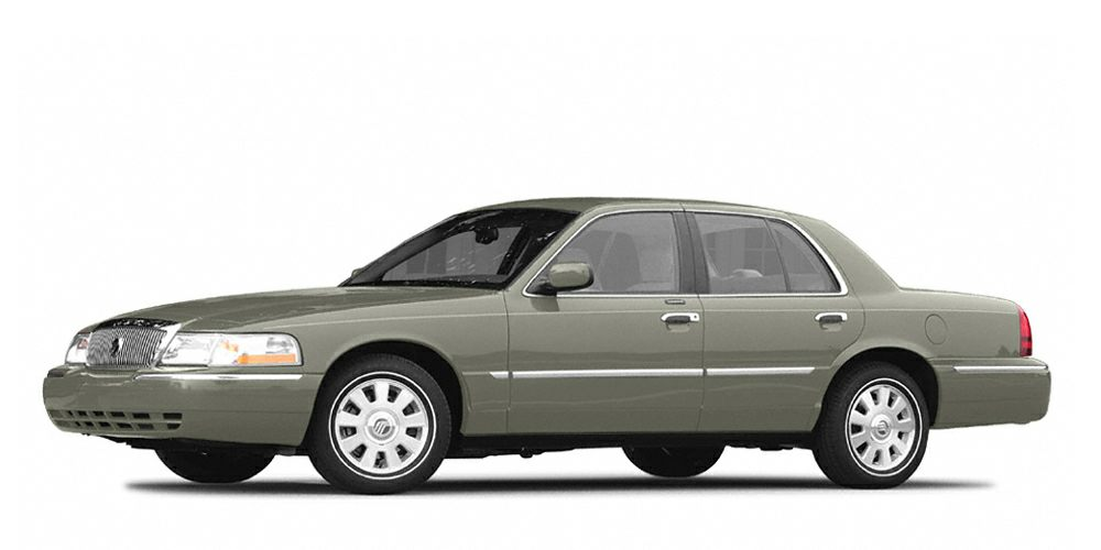 2004 Mercury Grand Marquis LS Miles 146973Color Spruce Green Clearcoat Metallic Stock 151701A