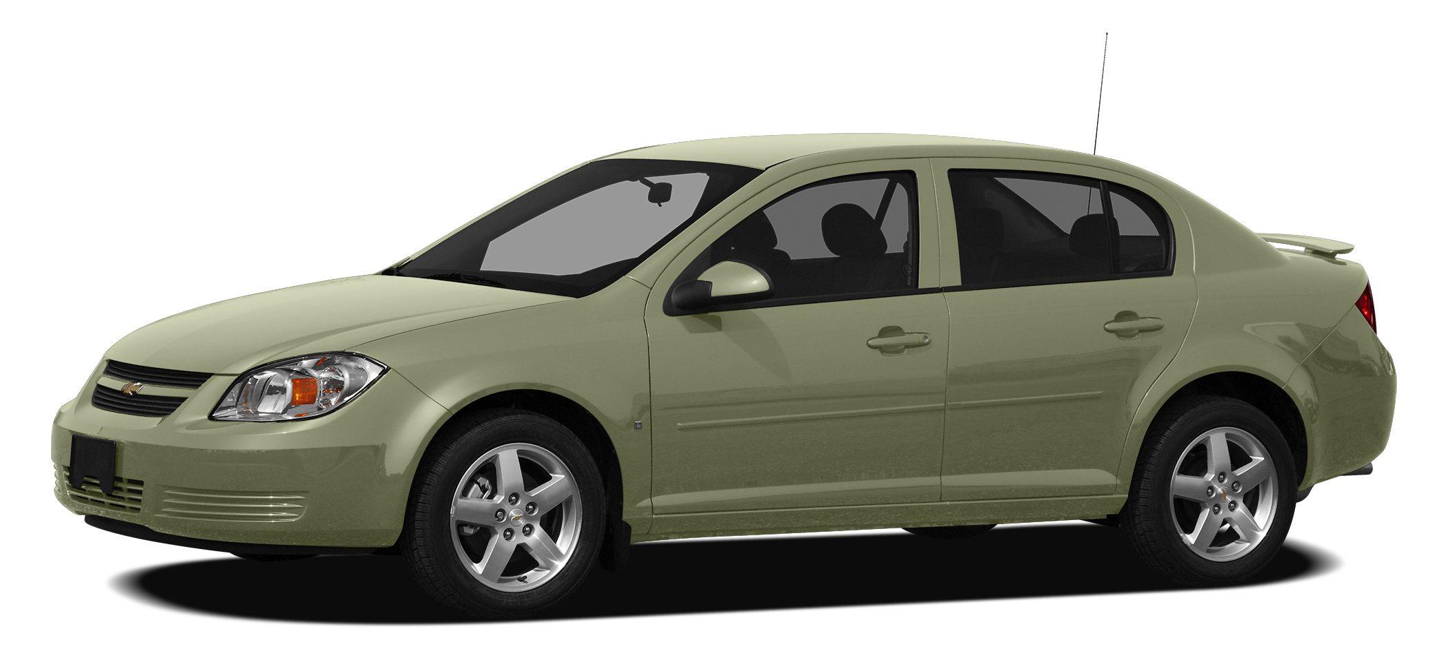 2010 Chevrolet Cobalt LT PRICED TO MOVE 1700 below NADA Retail EPA 35 MPG Hwy25 MPG City ONL