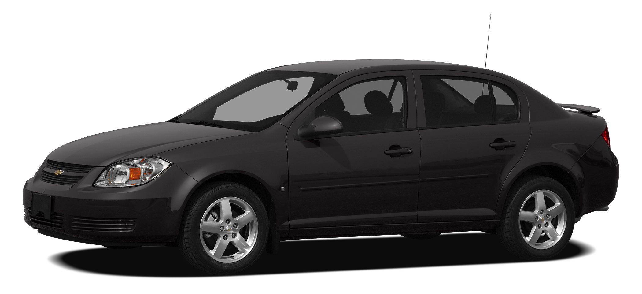 2010 Chevrolet Cobalt LT Miles 88238Color Black Stock RP1070A VIN 1G1AF5F58A7133724