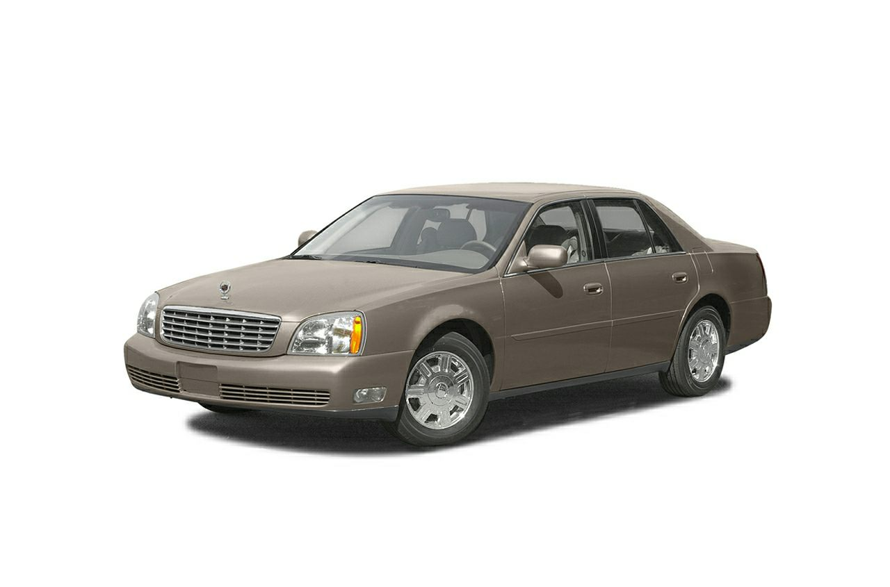 2003 Cadillac DeVille DTS Cannons exclusive 2 years or 24000 miles complimentary maintenance prog