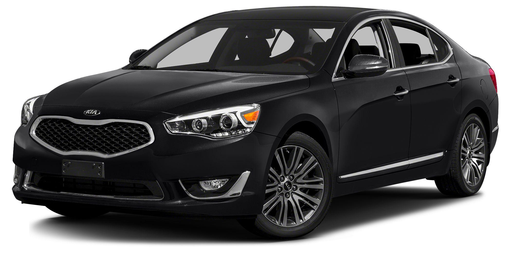 2014 Kia Cadenza  Miles 31410Color Black Stock K7666A VIN KNALN4D70E5167317