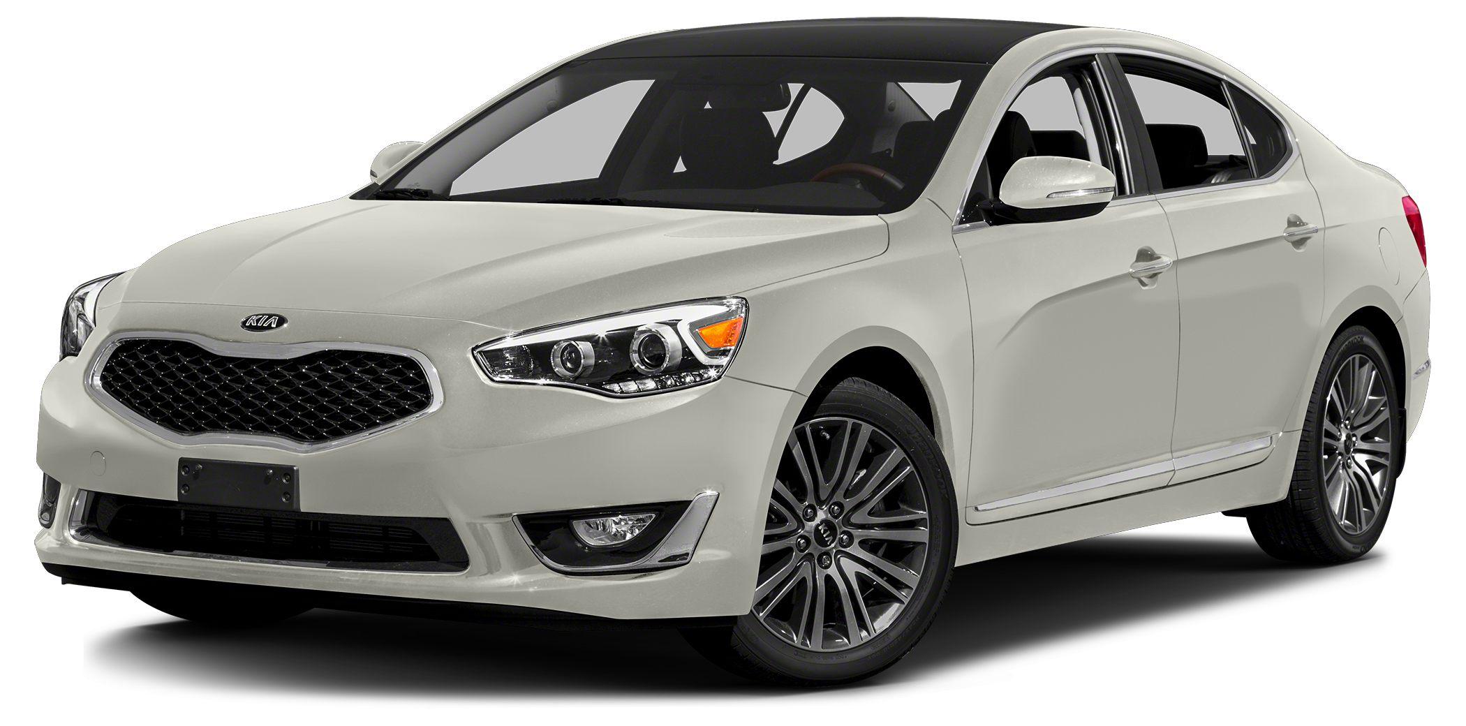 2014 Kia Cadenza Premium Miles 41353Color Snow White Pearl Stock 121603 VIN KNALN4D72E512160