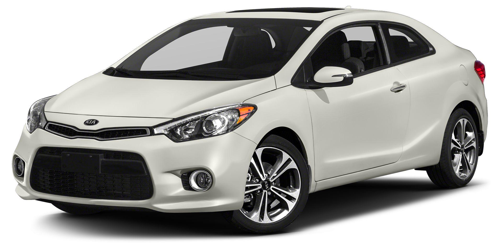 2016 Kia Forte Koup EX Miles 12Color Snow White Pearl Stock SB14623 VIN KNAFX6A86G5635344