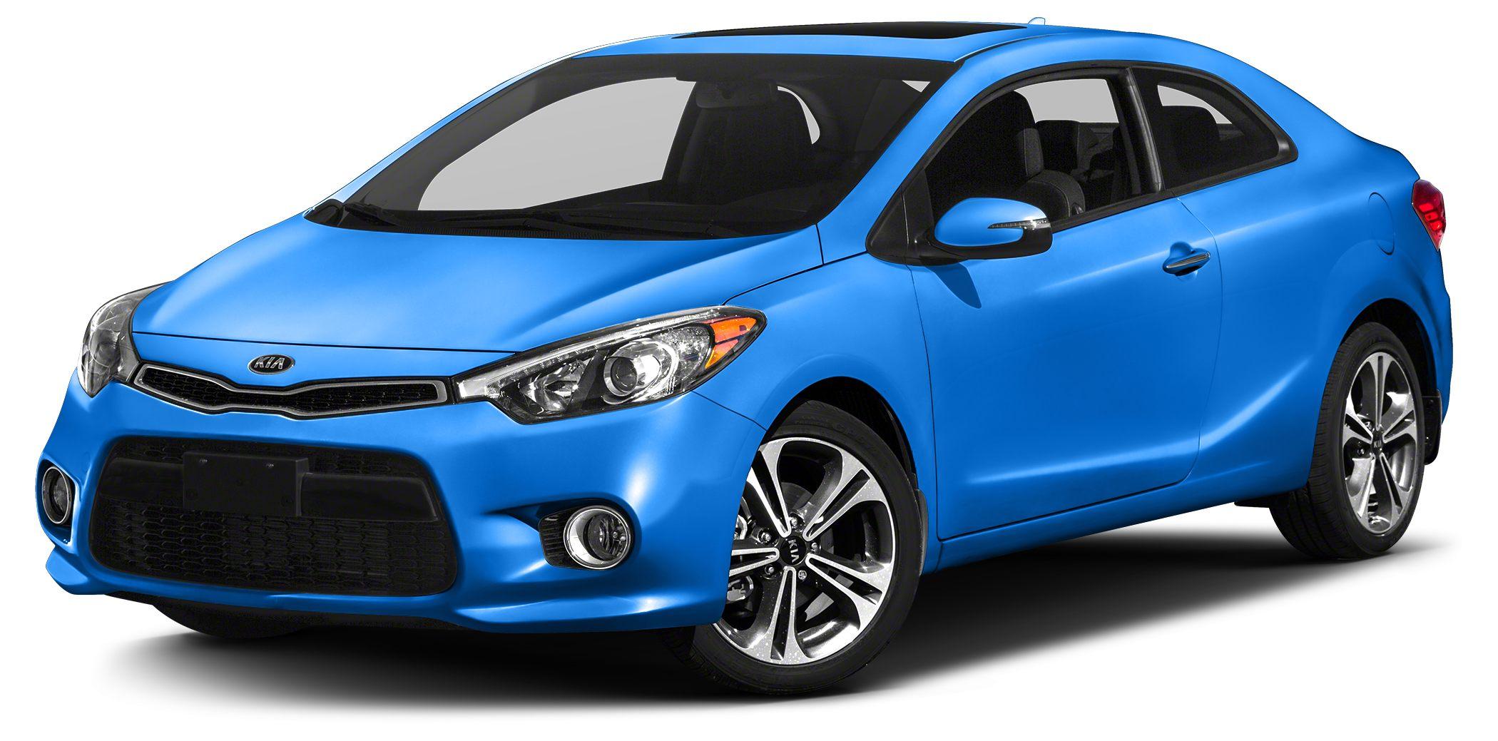 2014 Kia Forte Koup EX Miles 4044Color Blue Stock K11231 VIN KNAFX6A85E5176191