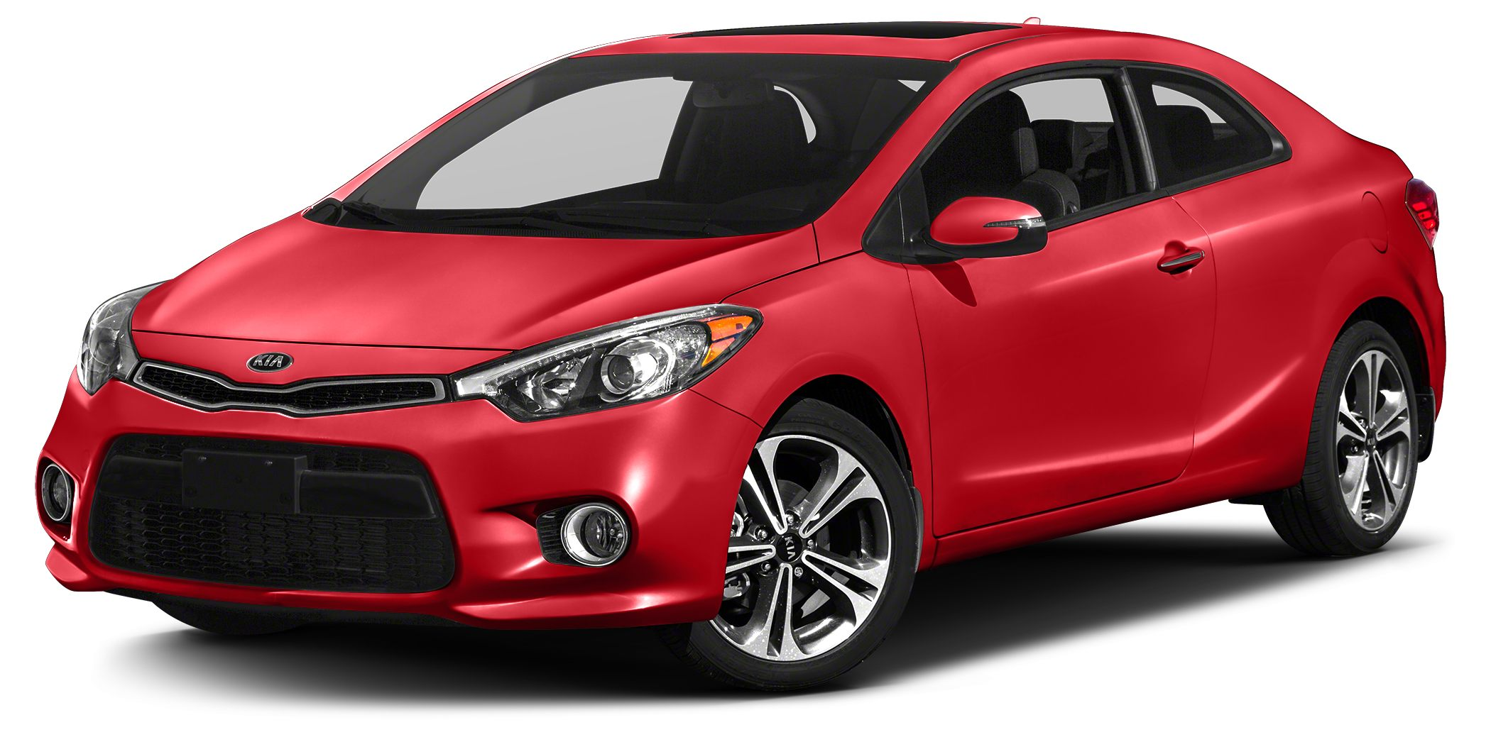2016 Kia Forte Koup SX Miles 0Color Racing Red Stock SB14499 VIN KNAFZ6A35G5600454