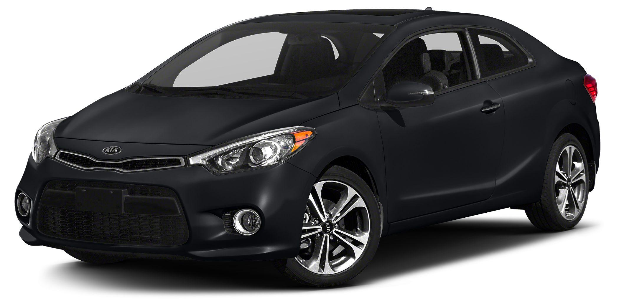 2014 Kia Forte Koup EX Miles 10616Color Black Stock K11488 VIN KNAFX6A81E5188595