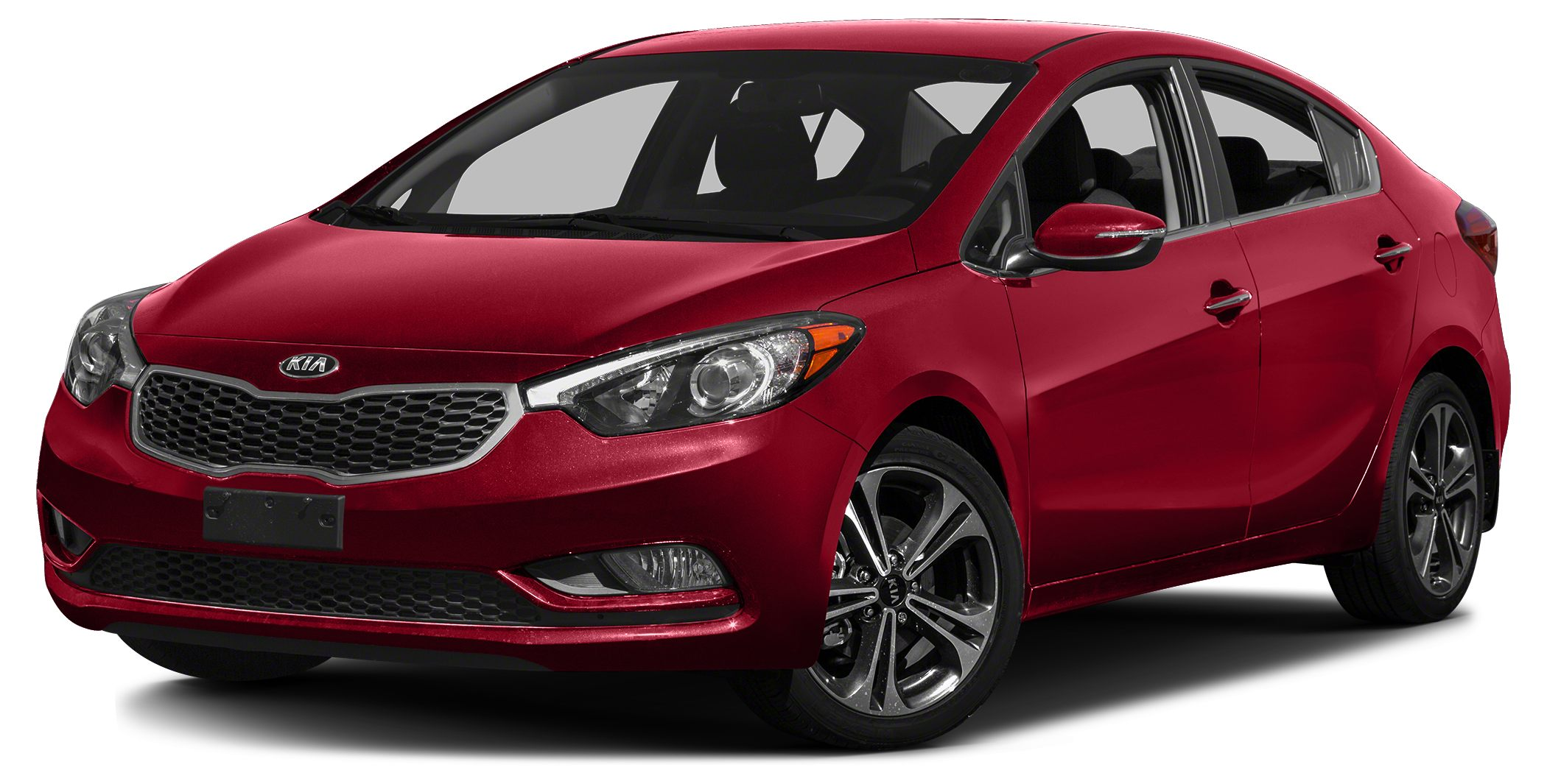 2016 Kia Forte LX Miles 2154Color Crimson Red Metallic Stock K15331 VIN KNAFX4A65G5611247