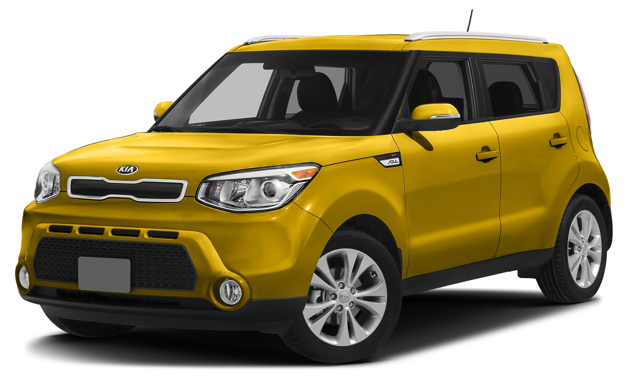 2014 Kia Soul  Miles 10900Color Yellow Stock R2542 VIN KNDJP3A55E7101626