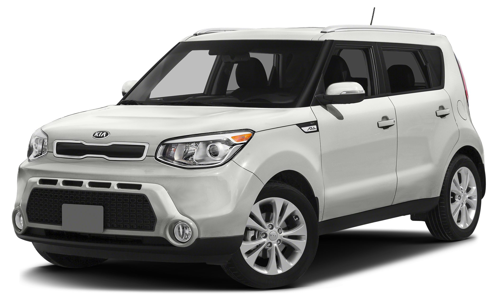 2014 Kia Soul Base Miles 83377Color White Stock K17769A VIN KNDJN2A27E7086326