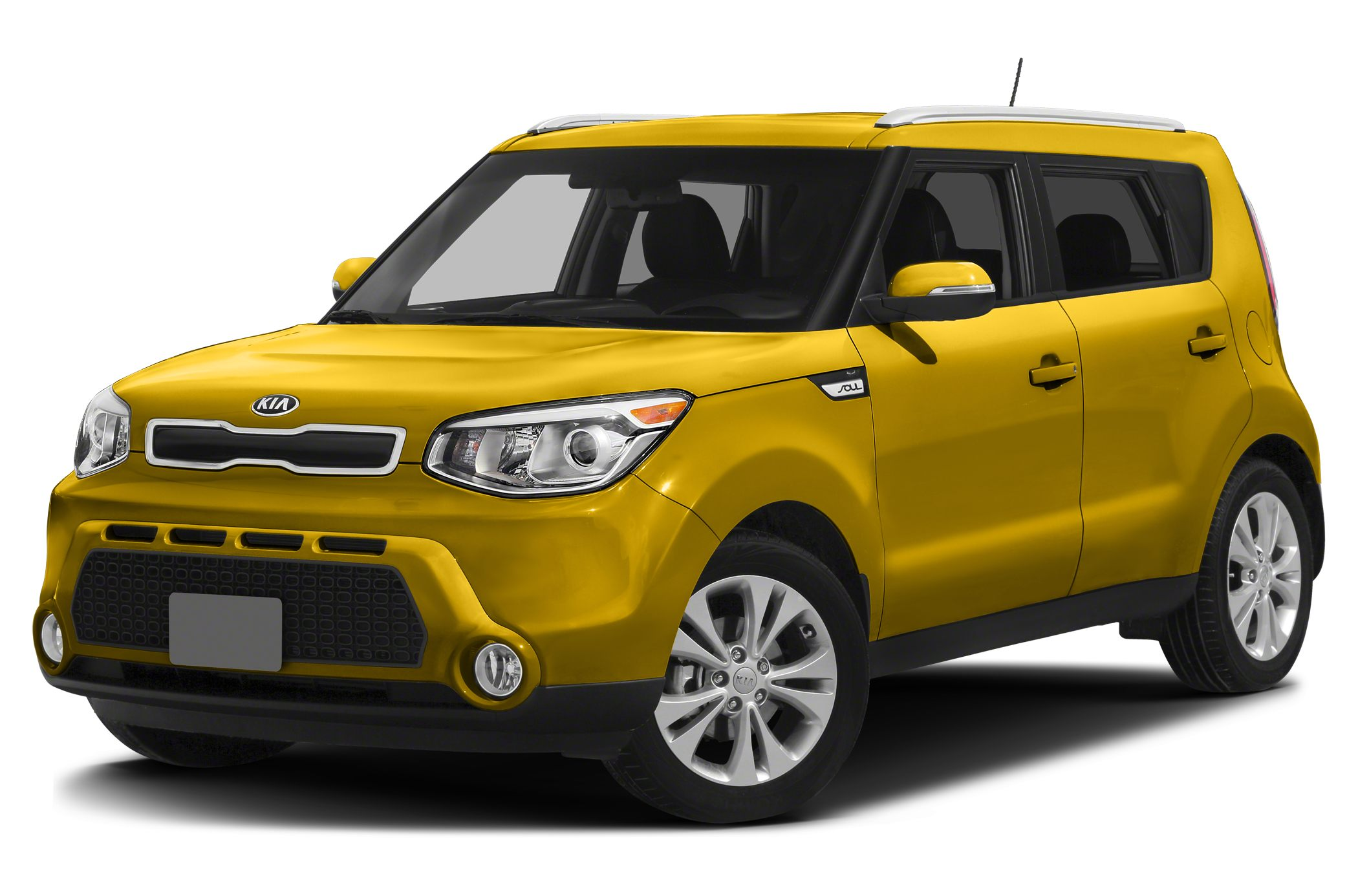 2014 Kia Soul Base 4D Hatchback 16L I4 DGI Gamma 6-Speed Automatic FWD Black and Black wUpg