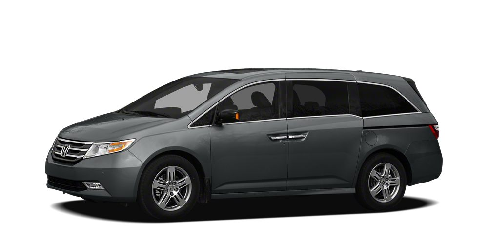 2012 Honda Odyssey Touring Miles 78549Color Polished Metal Metallic Stock P10518 VIN 5FNRL5H