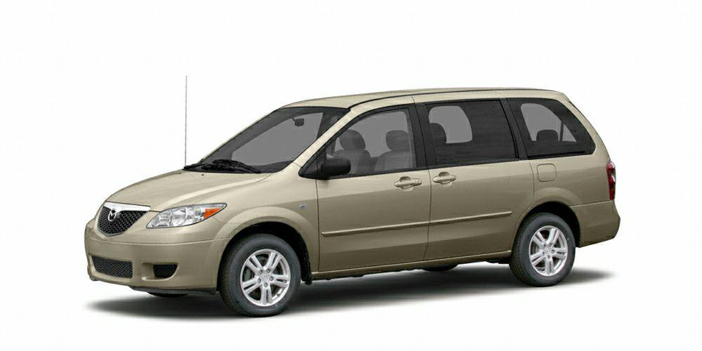 2004 Mazda MPV LX Miles 171455Color Cosmic Sand Metallic Stock SB14236A VIN JM3LW28A74052440