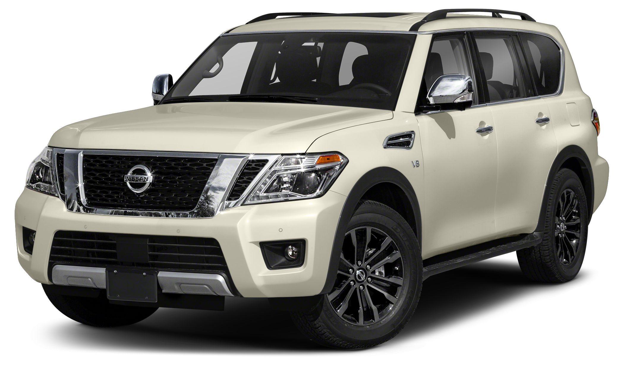 2017 Nissan Armada Platinum This 2017 Nissan ARMADA Platinum will sell fast Navigation Blueto