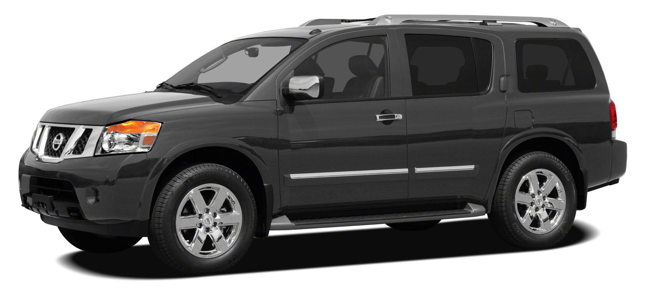 2011 Nissan Armada SV Miles 51929Color Smoke Stock M5651A VIN 5N1BA0ND3BN618657