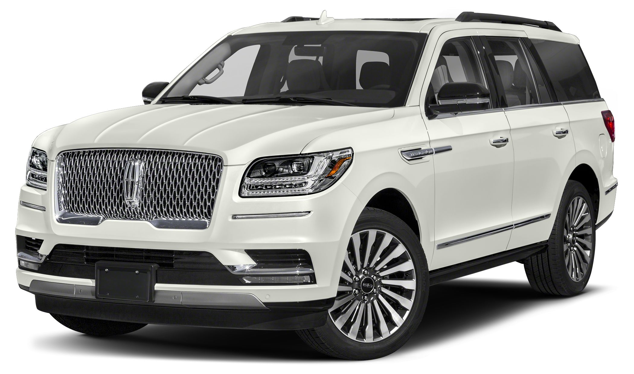 2018 Lincoln Navigator Select Miles 0Color Ivory Pearl Metallic Tri-Coat Stock LJ1713 VIN 5L